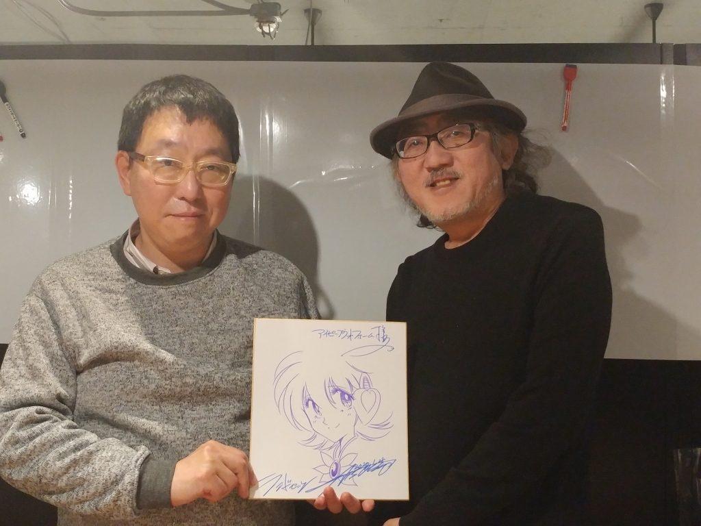 佐佐木先生と石田